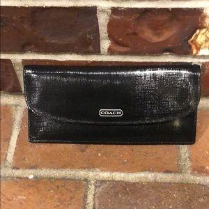 COACH Black Slim Wallet